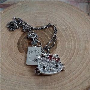 .925 Hello Kitty necklace